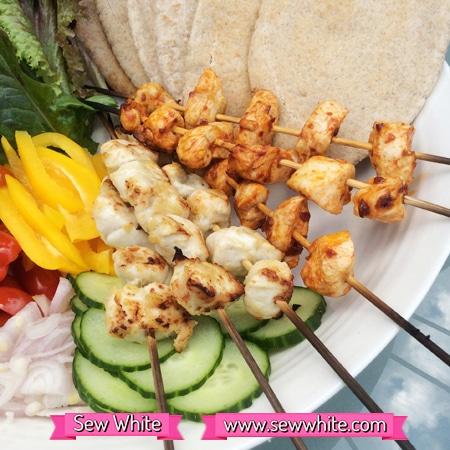 Sew White Sainsbury's pastes picnic platter 5