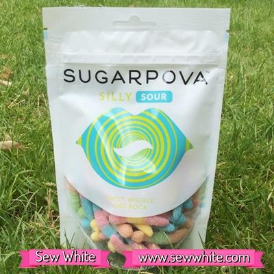 Sew White Sugarpova Sharapova silly sours 1