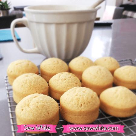 Sew White mackays jam mini cakes recipe 2