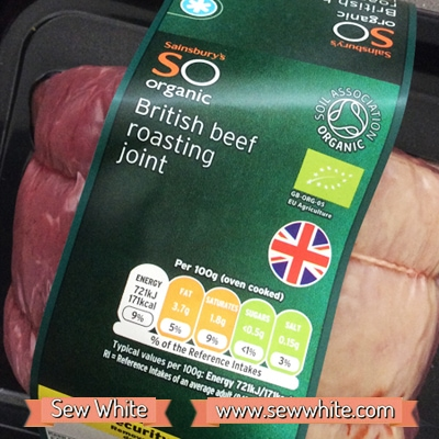 Sainsbury's So Organic roast dinner 2