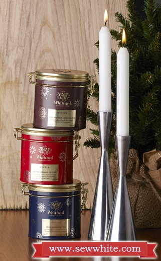Sew White Christmas 2014 food and drink 14 whittard set