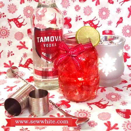 Sew White Christmas cocktails Aldi Tamova Vodka 1