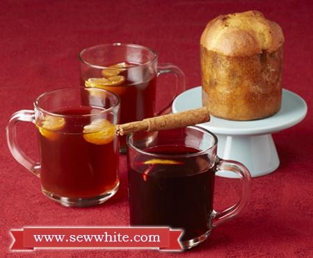 Sew White mulled wine non alcoholic recipe