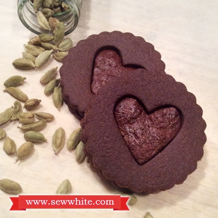 Sew White cardamom chocolate biscuits 3