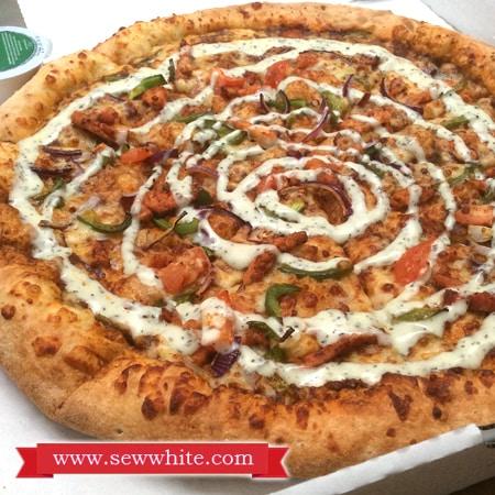 Sew White Papa Johns Pizza Night 3
