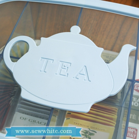 Sew White Snips review tea caddy 2
