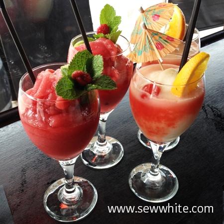 Sew White Suburban Cocktails Wimbledon Review 2