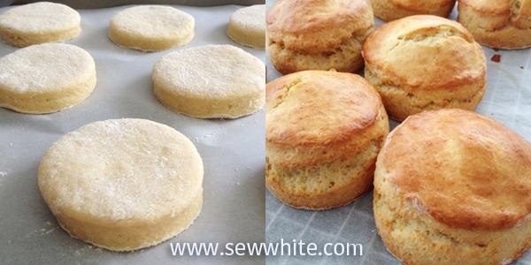 Sew White Wimbledon afternoon tea orange scones 4