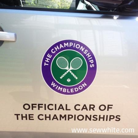 Offical cars of the wimbledon tennis 2015
