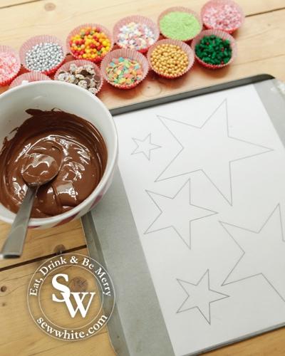 Sew White Chocolate Star Christmas Tree 3