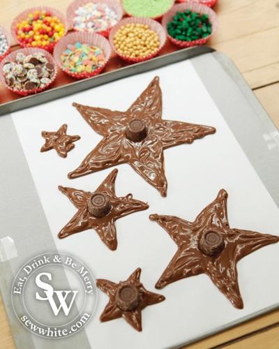 Sew White Chocolate Star Christmas Tree 4