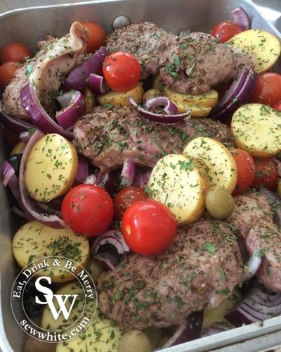 Sew White Schwartz tray baked lamb 1