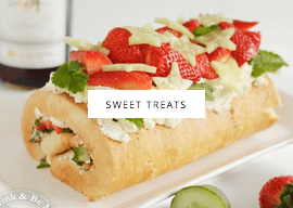 Sweet treats and recipes at Sew White