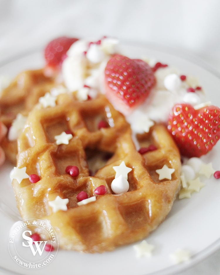 how to make doughnut waffles. A simple way to make a fun breakfast