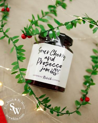 sour cherry and prosecco jam by the hawkshead relish company in the Top 5 Food Gifts for Christmas 2019