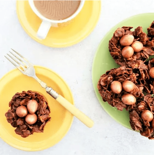 Chocolate Cornflake Cakes by Feasts Glorious Feast