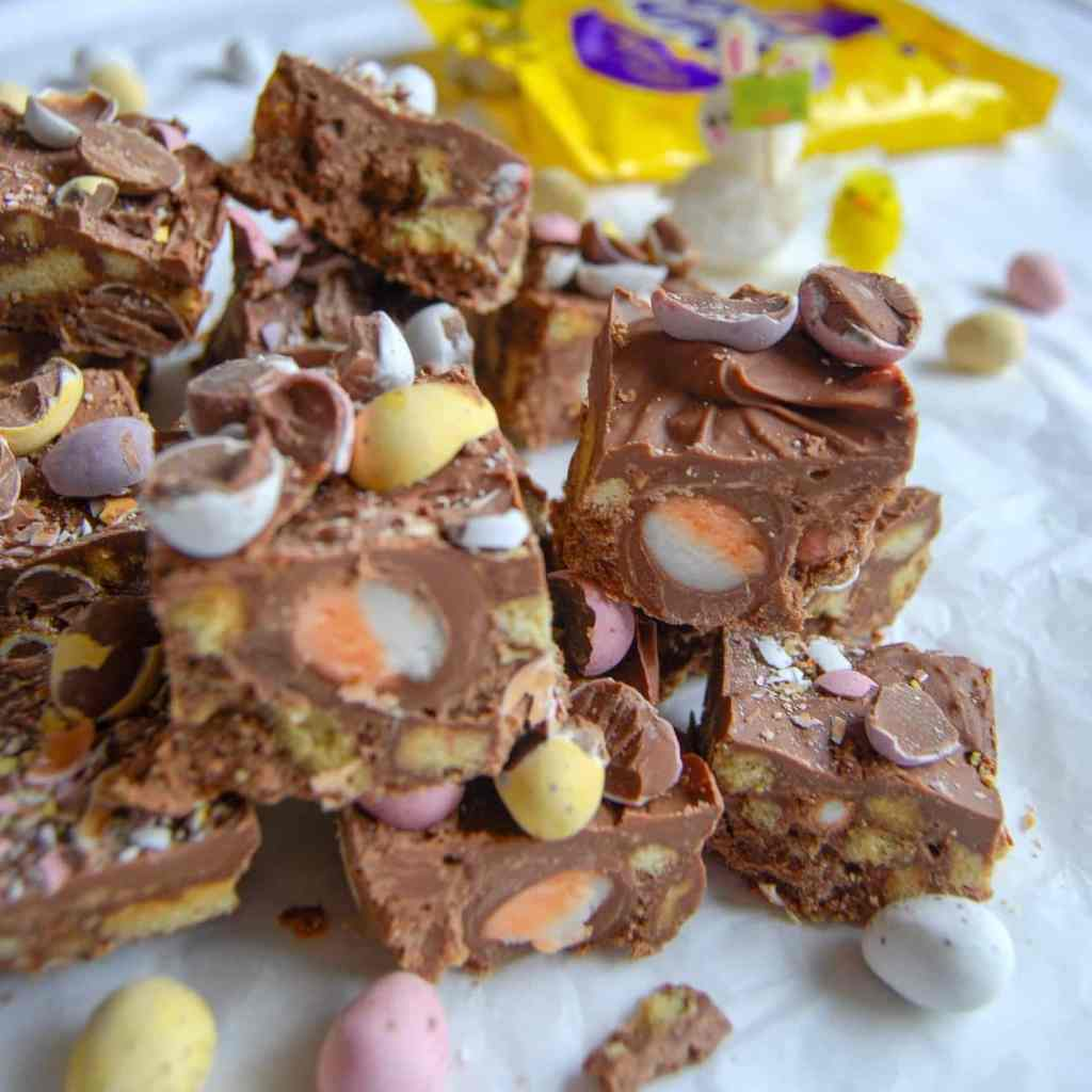 No Bake Chocolate Easter Fridge Cake from Something Sweet Something Savoury