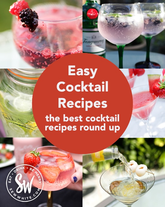 Easy Cocktail Recipes The Best Cocktail Recipes Round Up