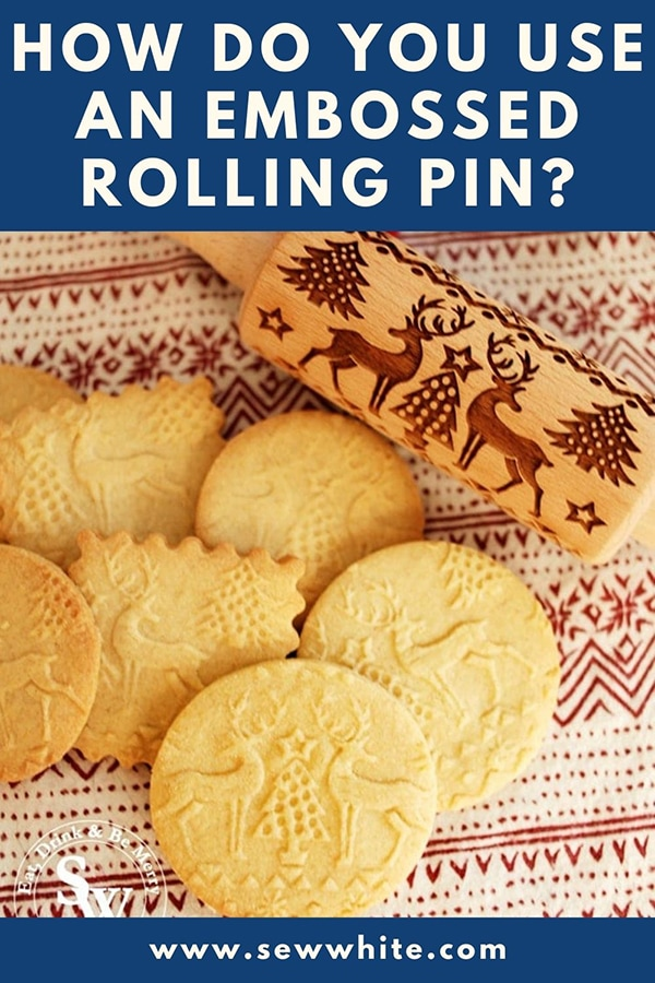 How to use an embossed rolling pin?