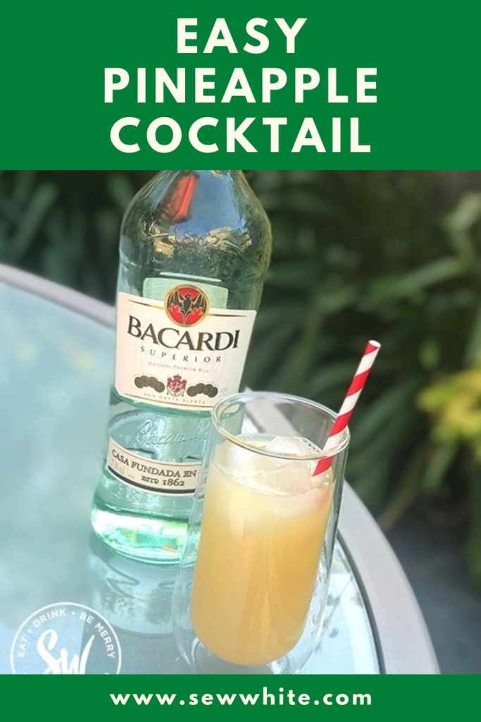 easy pineapple cocktail pin