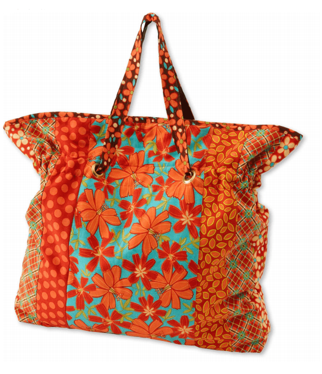 FREE Bag Pattern: Cinch It Tote Bag