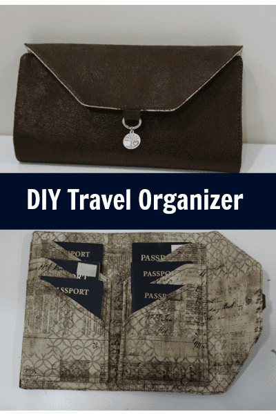 DIY Travel Organizer