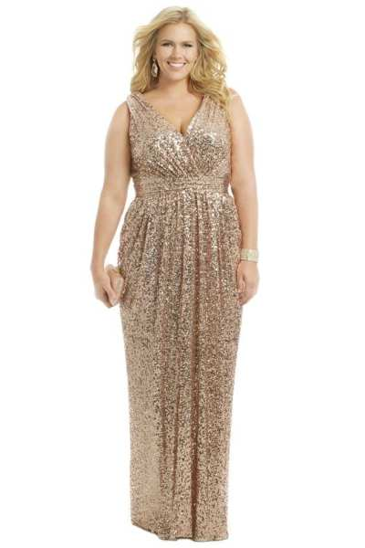 plus size formal dress pattern