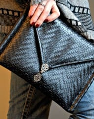 Leather Envelope Clutch FREE Pattern