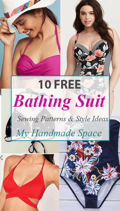 10 Bathing Suit Sewing Patterns FREE - My Handmade Space
