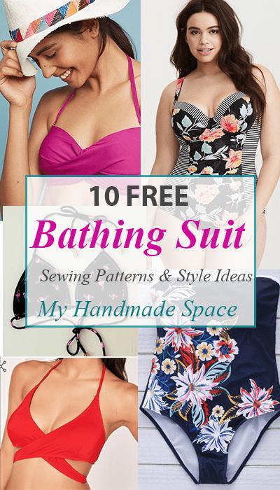 40 Bathing Suit Sewing Patterns FREE My Handmade Space Custom Swimsuit Patterns Free
