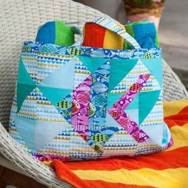 beach bag pattern free
