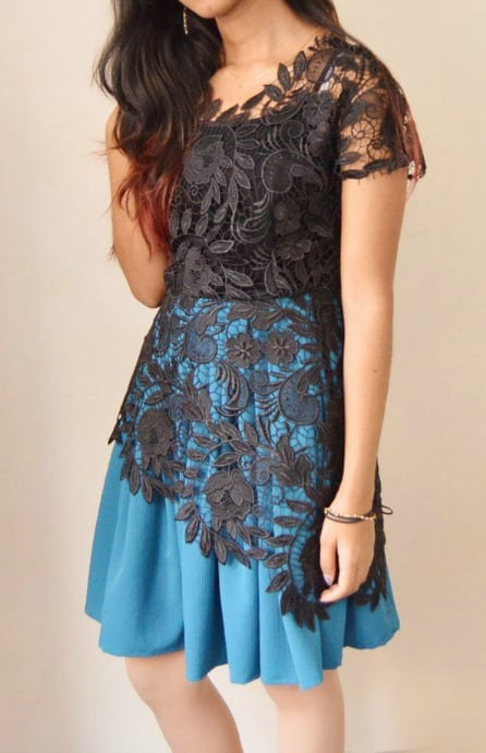 DIY Lace Combo Dress Tutorial - My Handmade Space