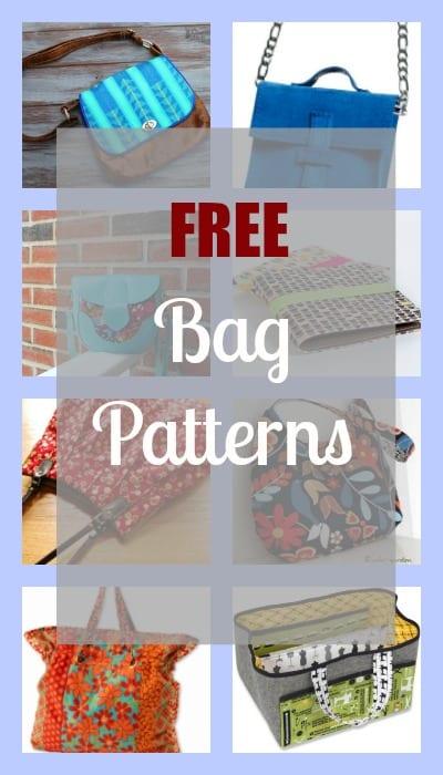 photograph regarding Handbag Patterns Free Printable named No cost Bag Habits - My Selfmade Room