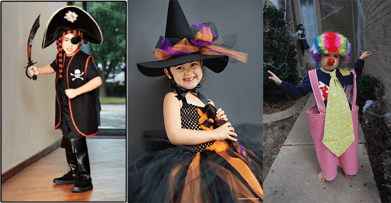 FREE Halloween Costumes Sewing Patterns