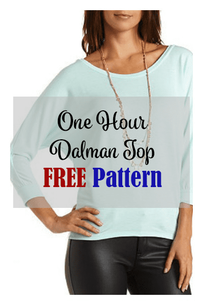 One Hour Top Free Pattern My Handmade Space