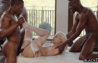Blacked – Naomi Woods – Shy Blonde Teen BBC Threesome