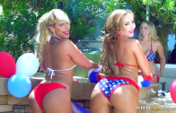 Brazzers – Phoenix Marie, Julia Ann & Richelle Ryan vs Jordi – Cumming To America