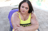 BBW MILF FUCKED IN THE POOL
