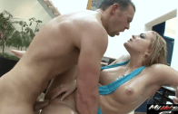 BLONDE ALEXIS TEXAS OILED & FUCKED