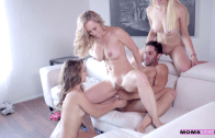 THE WILD CARD – MOM TEACH SEX WITH BRANDI LOVE, KIMMY GRANGER & ALLI RAE