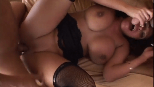 AVA DEVINE TAKES TWO DICKS IN THE ASS