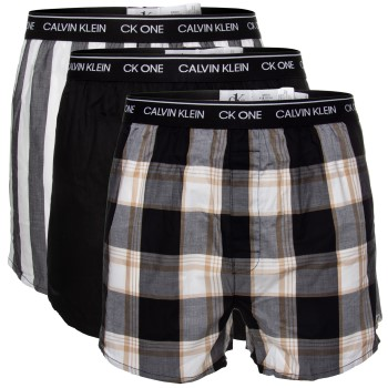 Calvin Klein 3-pack One Cotton Slim Fit Boxer