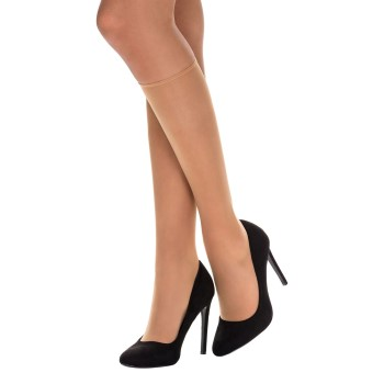 DIM 2-pack Sublim Voile Mi-Bas Knee-high