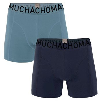 Muchachomalo 2-pack Solid Cotton Boxer