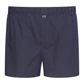Jockey Kalsonger Woven Poplin Boxer Shorts Marin bomull X-Large Herr