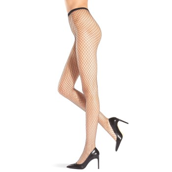 Oroblu Strumpbyxor Carry Fishnet Tights Svart polyamid S/M Dam