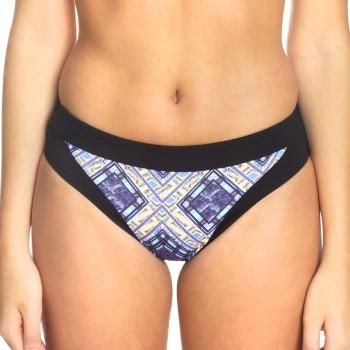 Sunseeker Tribe Attack Full Classic Bikini Panty Svart mönstrad 38 Dam