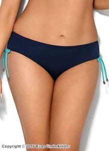 Bikinitrosa med turkosblå accenter