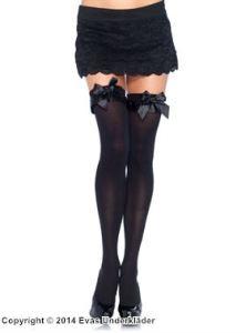 Stockings med rosetter