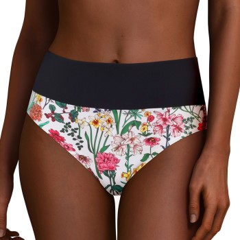 Chantelle Flowers High Waist Bikini Brief Vit m Blommor 42 Dam